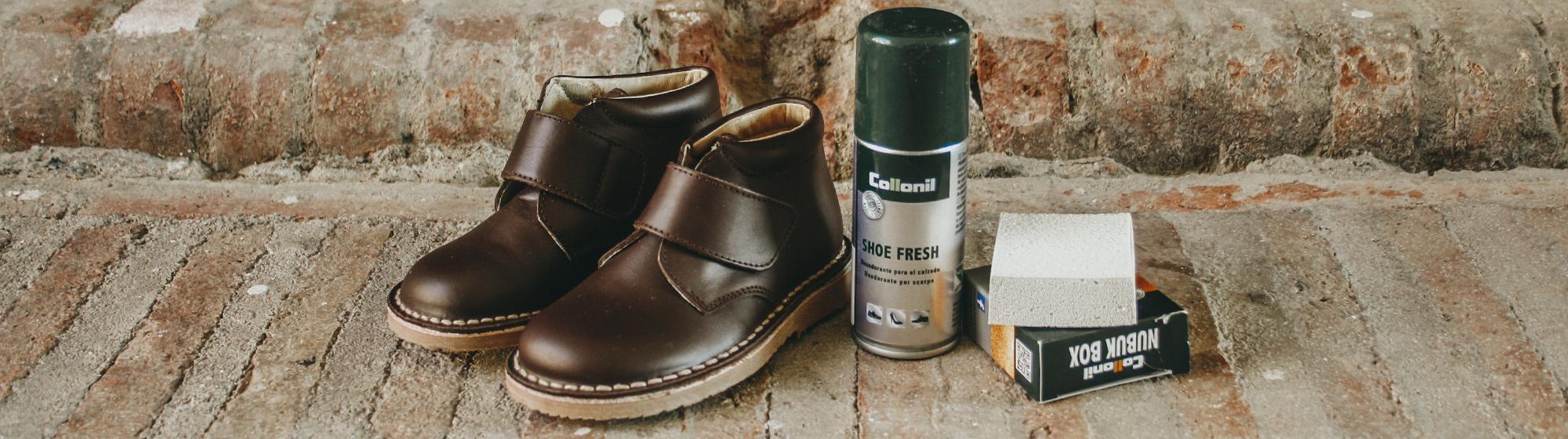 Pour nettoyer les chaussures