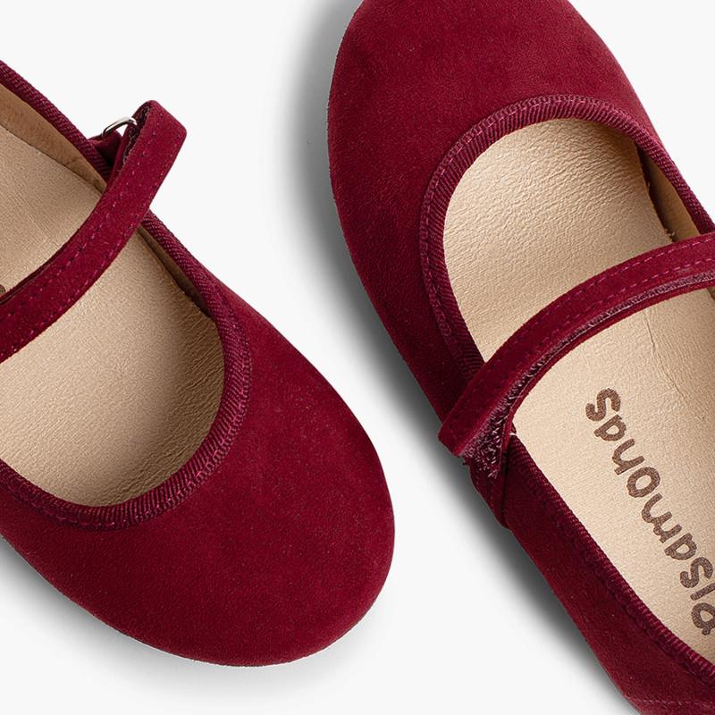 Chaussures fille en serratex avec velcro