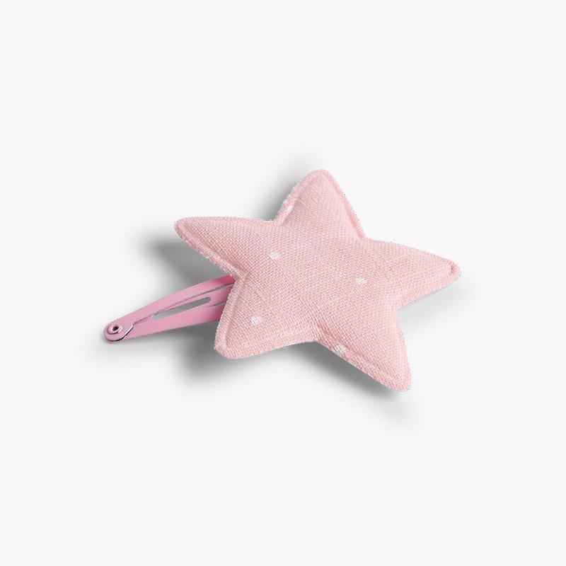 Barrette pour cheveux étoile à pois