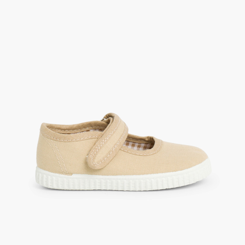 Chaussures Babies Fille à scratch style basket