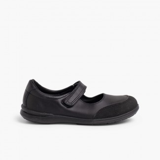 Chaussures d'école Fille Babies à embout renforcé Noir