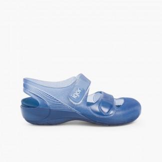 Sandales plage piscine Bondi  Bleu marine