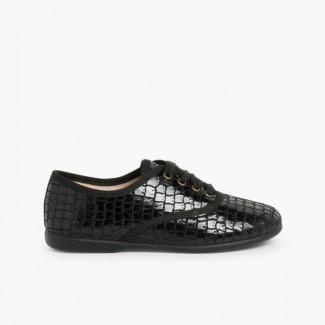 Pour BlucherRichelieuDerby Fille Chaussure Et Brogue OXiZPku