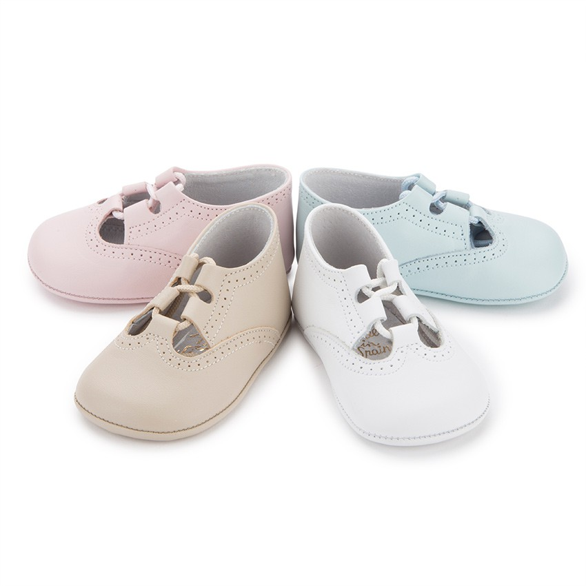 Chaussures Anglaises en Cuir pour bébé