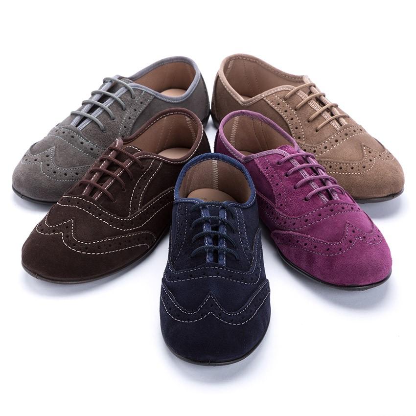 Chaussures Blucher pour Filles