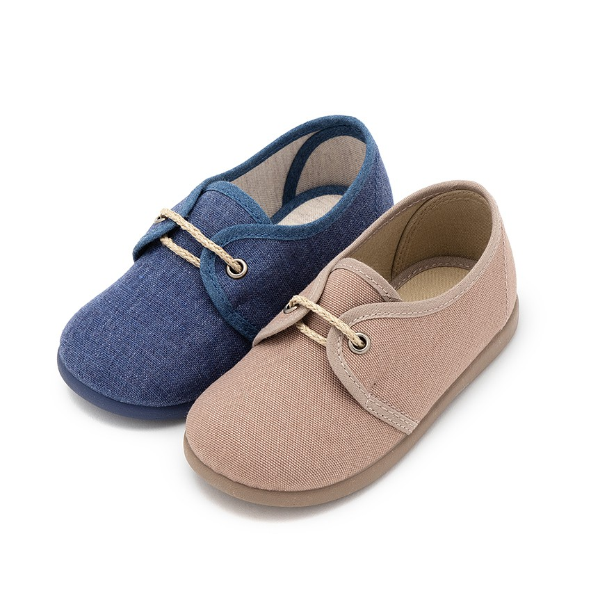 Chaussures Blucher garçon en toile