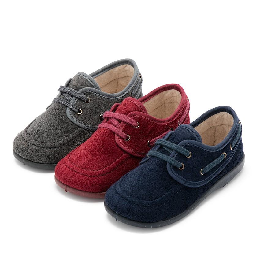 Chaussures bateau Serratex à lacets