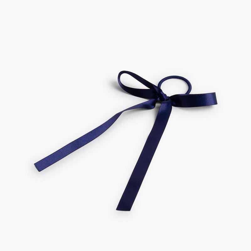 Chouchou avec nœud en satin