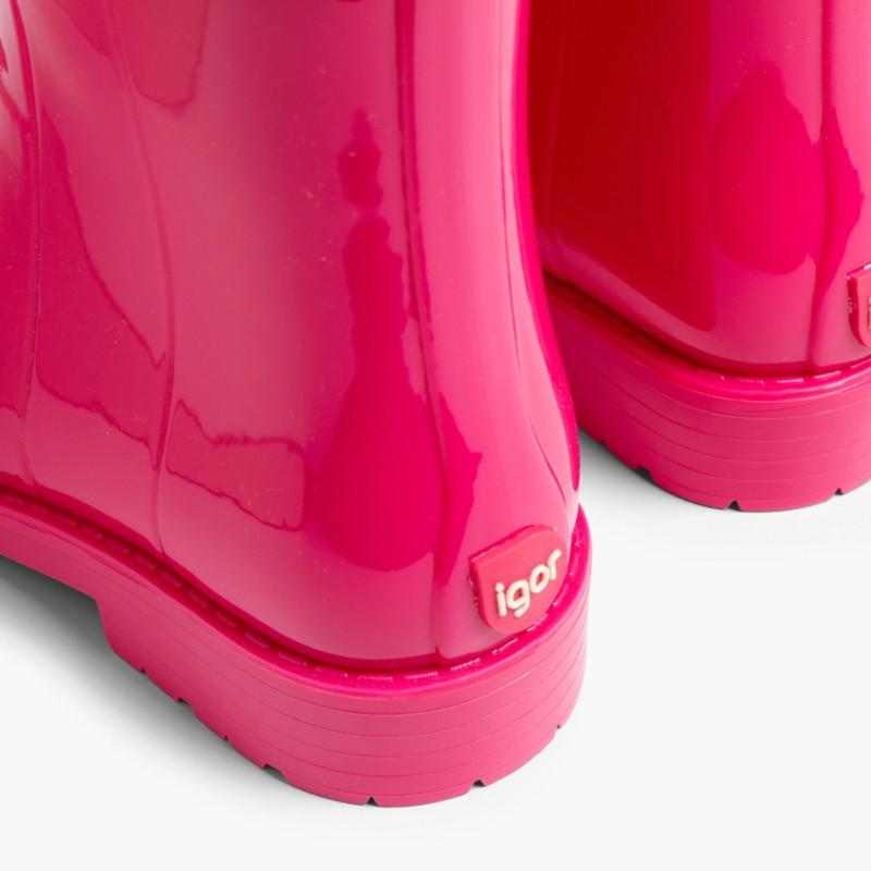 Bottes de pluie fille style verni IGOR