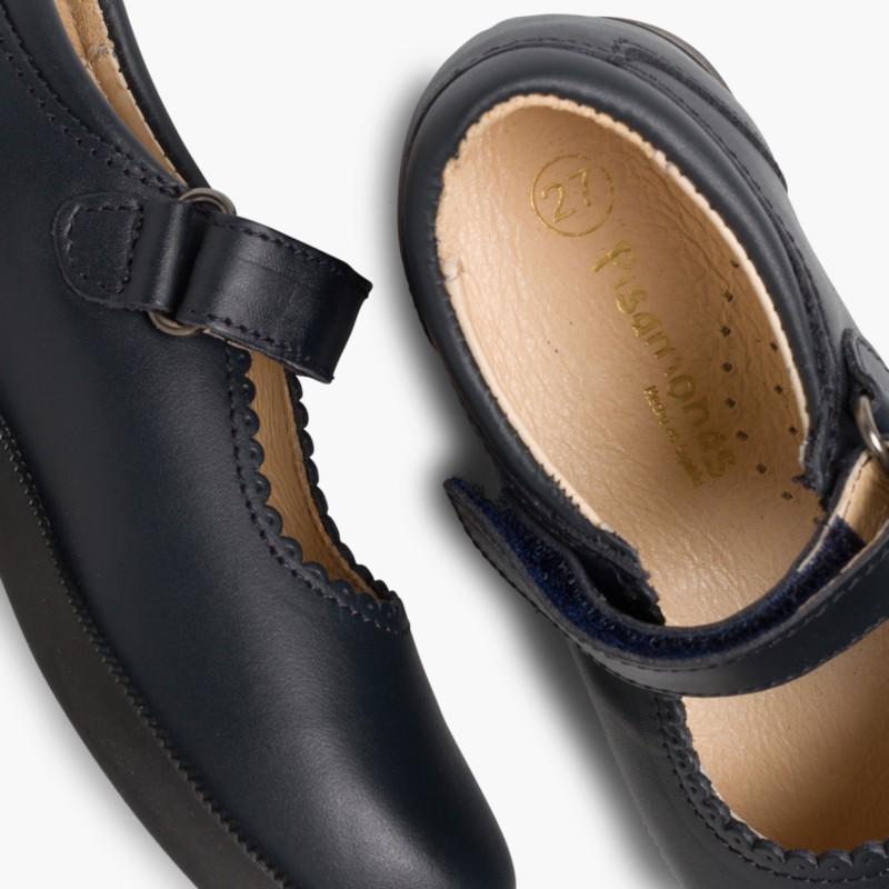 Chaussure Babies d école Fille - Velcro - Chaussures Enfant Online ... ae58de614ff1