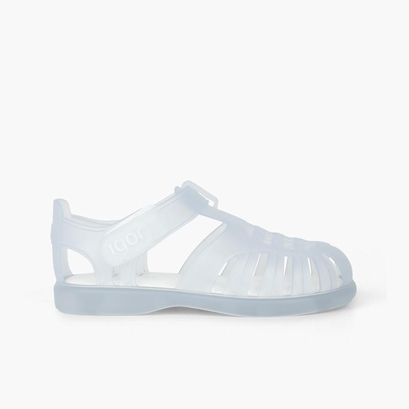 Sandales Plage basiques à velcro tobby