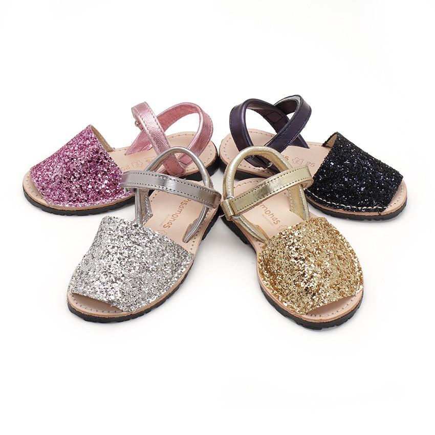 Sandale Avarca Glitter Velcro