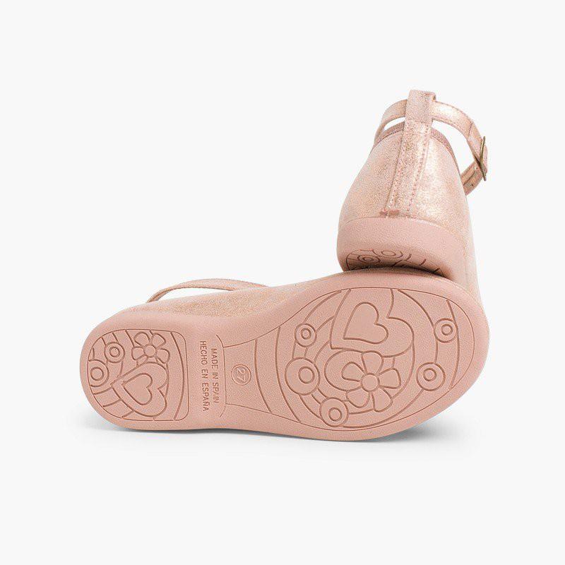 Chaussures babies fille boucle brides croisées
