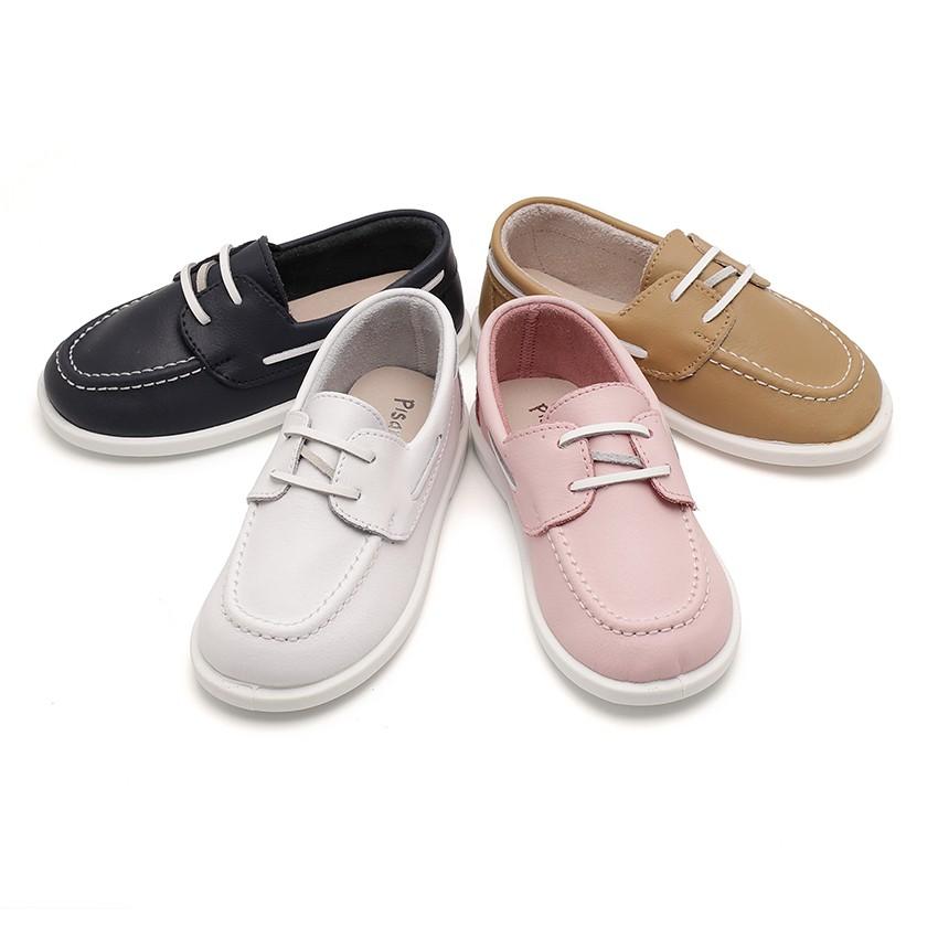 Chaussures bateau en Cuir