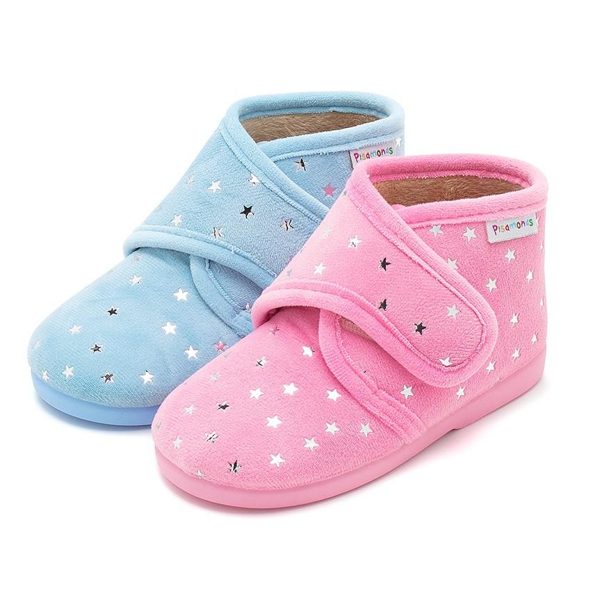 Pantoufles confortables pour enfant avec étoiles brillantes
