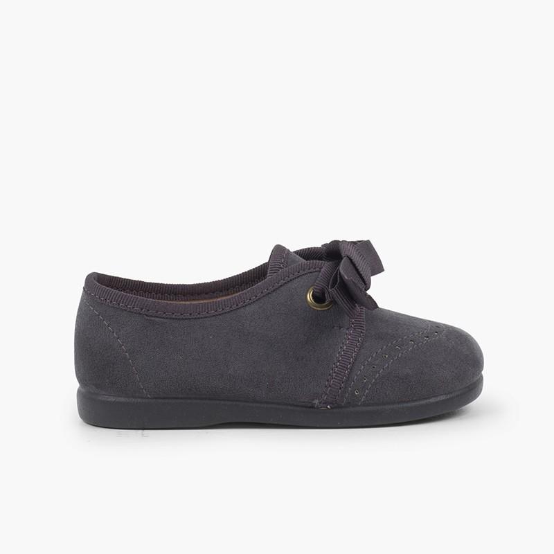 Chaussures Blucher bébé enfant serratex velcro