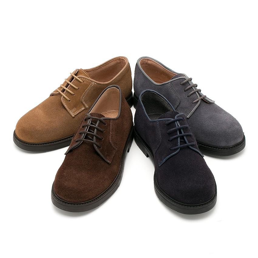Chaussures Blucher à lacets