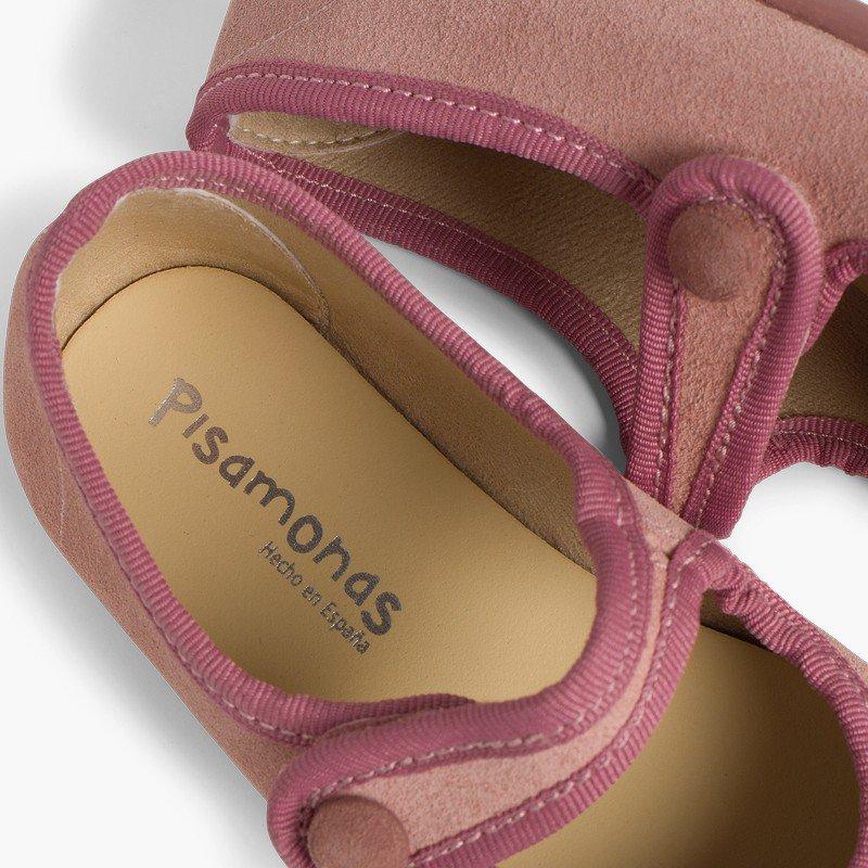 Babies en suède avec Velcro