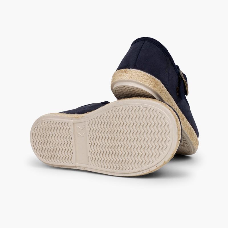 Chaussures salomé boucle bamara et jute