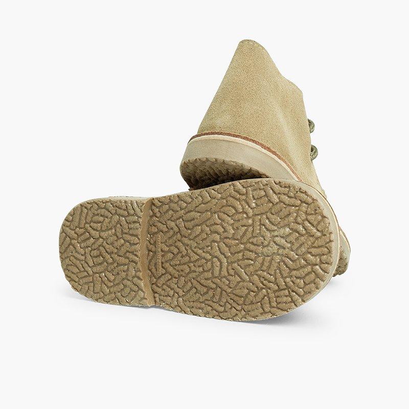Desert Boots Bottines Chukka à Lacets Enfants et Adultes