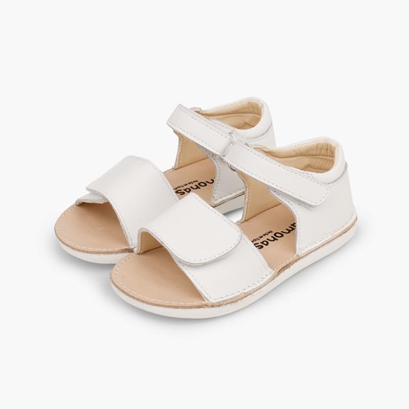 Sandales premiers pas en double velcro