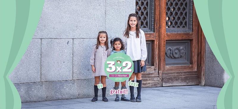 3x2 Pisamonas Chausssures pour Enfants