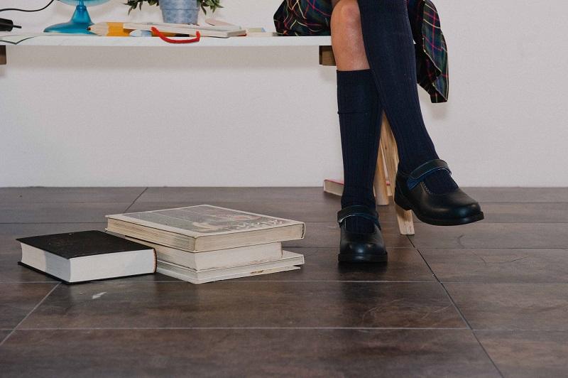 Pisamonas Chaussures scolaires avec velcro