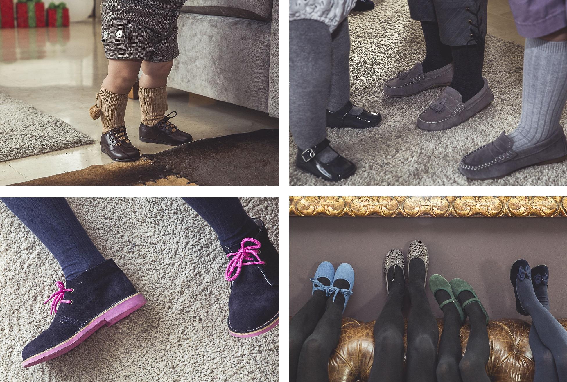 Gamme de chaussures pour Noël