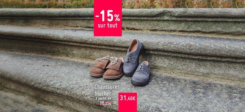 Soldes Chaussures Blucher