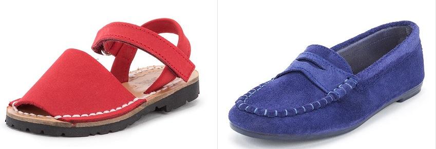 Cromoterapia Rojo Azul en Zapatos