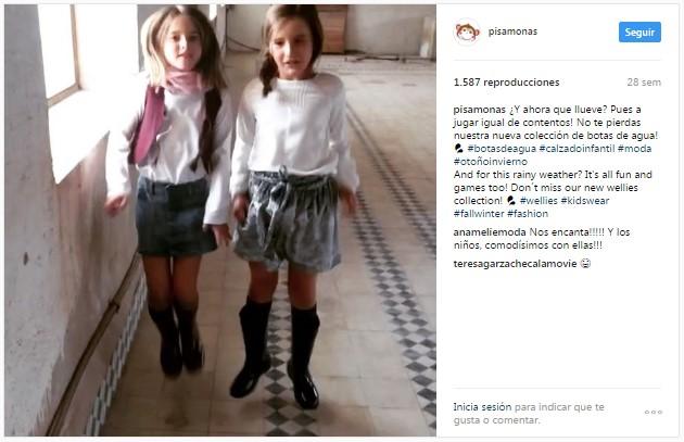 Instagram pisamonas filles