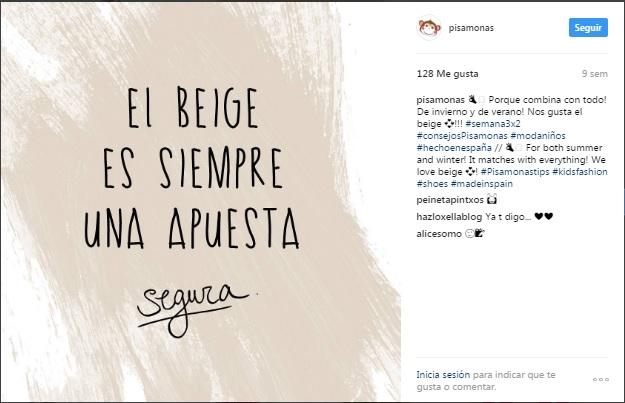 Instagram pisamonas idées