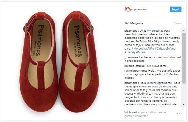 Instagram pisamonas chaussures babies