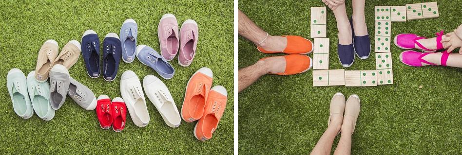 Nouvelles couleurs 2015 tennis et espadrilles Pisamonas