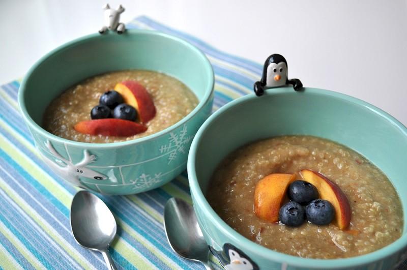 Purée de quinoa aux fruits Pisamonas